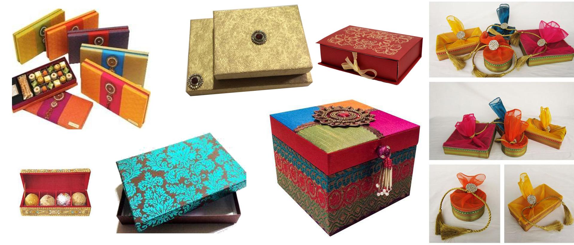 BOXES -PAPER/CLOTH