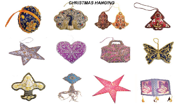 HANGINGS CHRISTMAS DECORATION