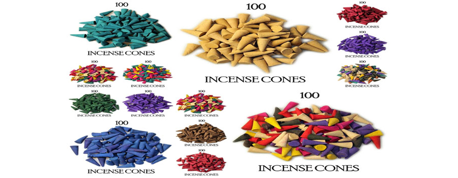 LOOSE INCENSE CONES