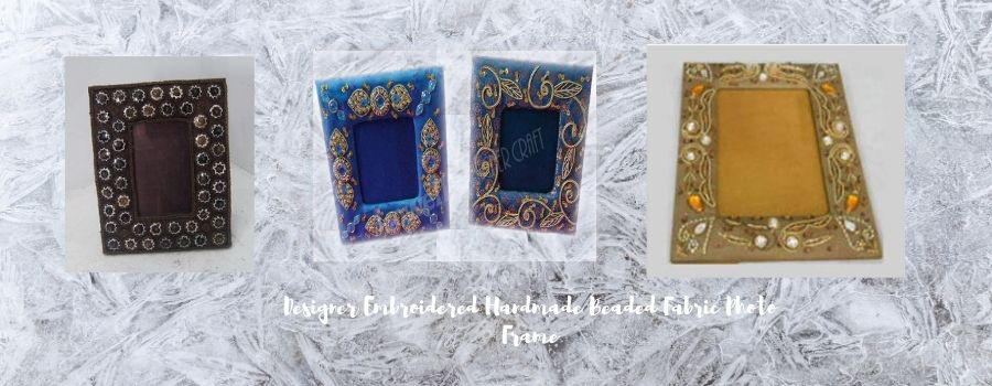 EMBROIDERY PHOTO FRAME