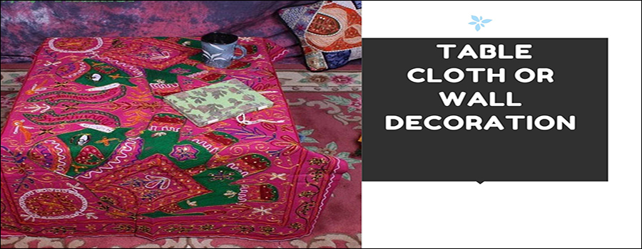 ETHNIC TABLE COVER