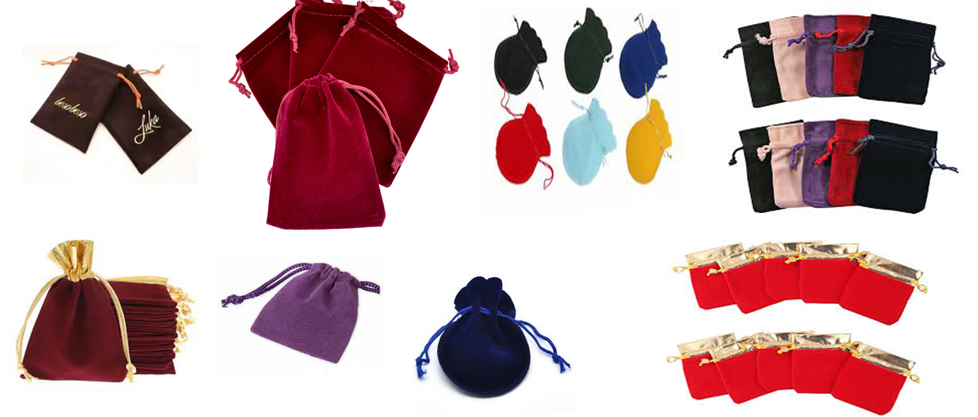 VELVET  BAG/POUCHES